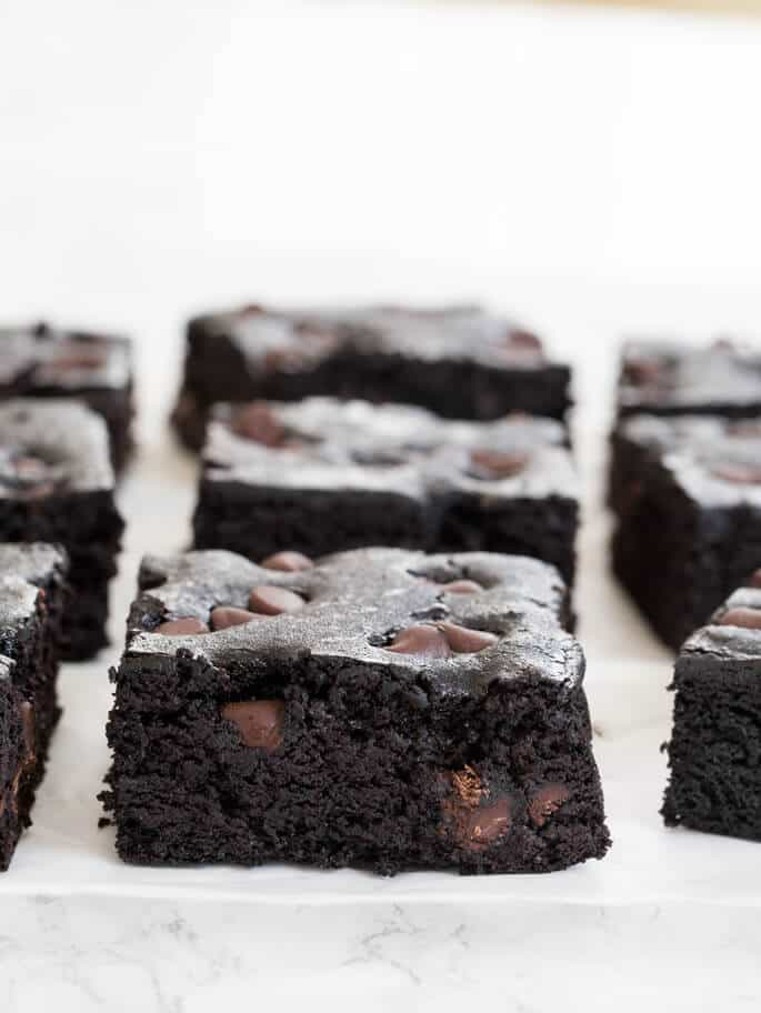 Black bean brownies are a special kind of flourless gluten free brownie, and this amazing recipe doesn't taste at ALL like beans. Really! Tasting is believing.