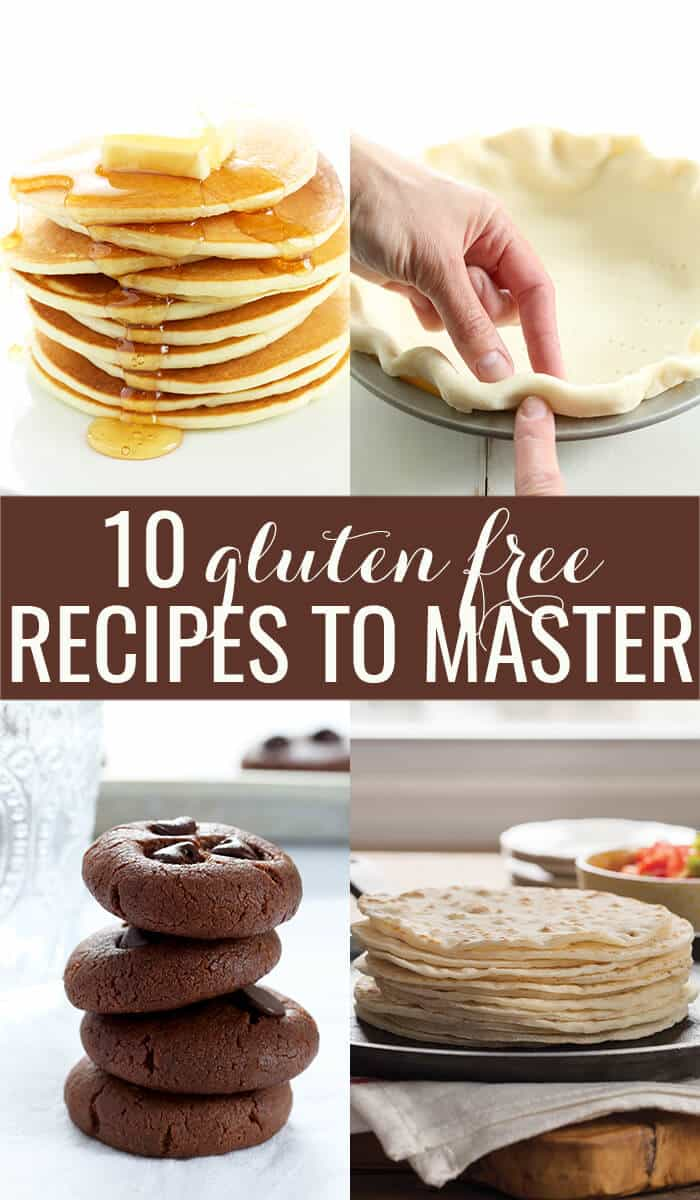 If you're learning how to eat gluten free, you need to start somewhere. These are the 10 gluten free recipes you need to master now to help you eat great and stick to that diet!