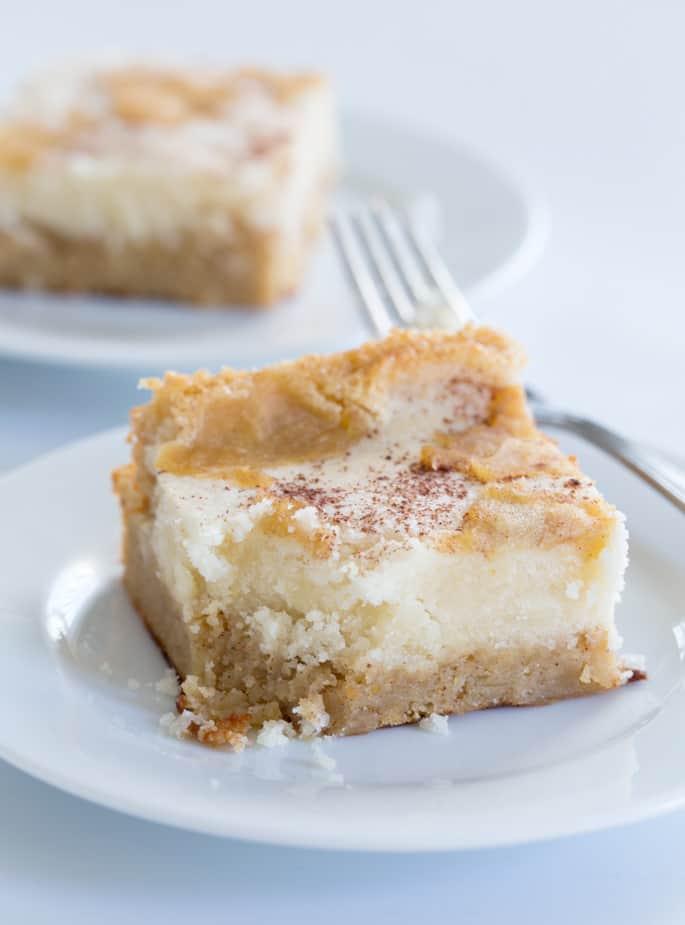 Easy Gluten Free Apple Custard Cake
