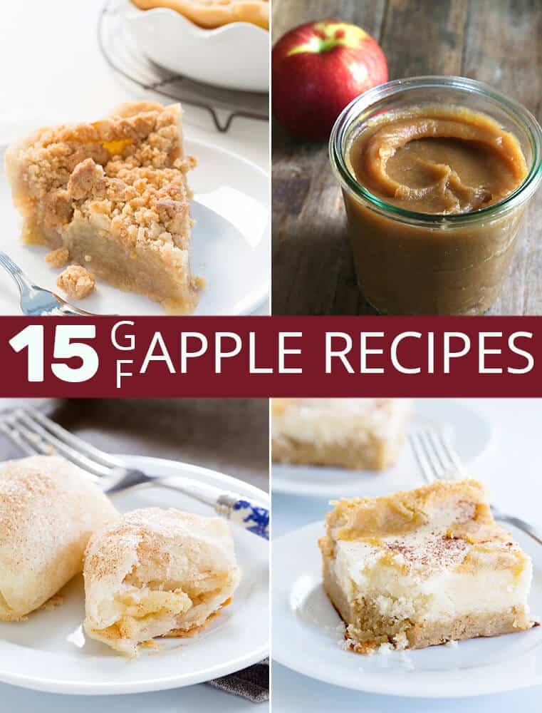 15 of the very best gluten free apple recipes you'll ever find, just in time for the heart of fall baking season. There's a holiday showstopper and an everyday dessert here for everyone!