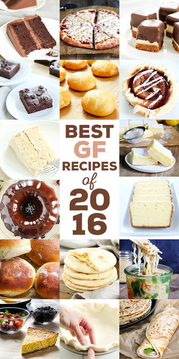 The Very Best Gluten Free Recipes of 2016