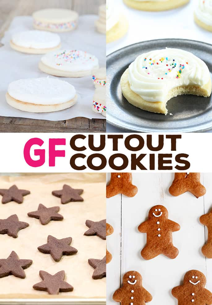 These 10 recipes for gluten free cutout cookies are all you need to cut cookies into any shape, for any holiday at all. They hold their shape during baking, so get as creative as you like!