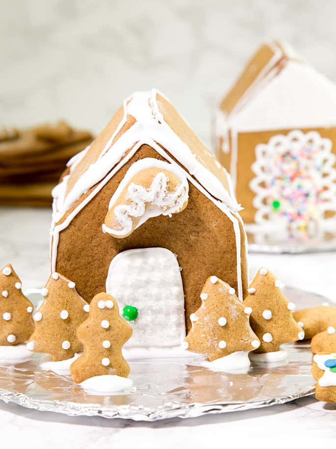 How To Make a Gluten Free Gingerbread House