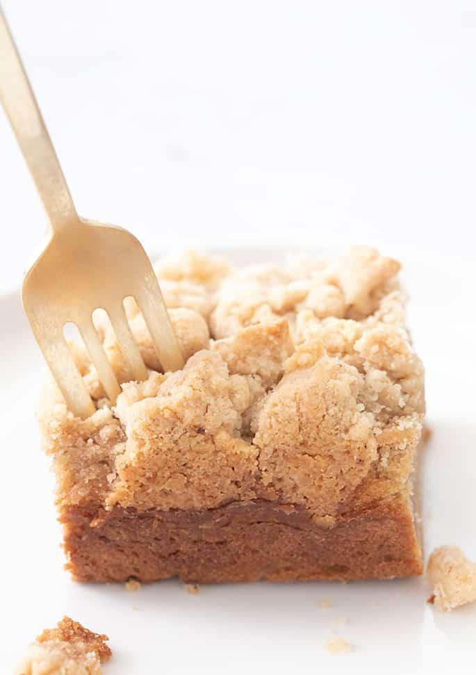 Sour Cream Gluten Free Coffee Cake
