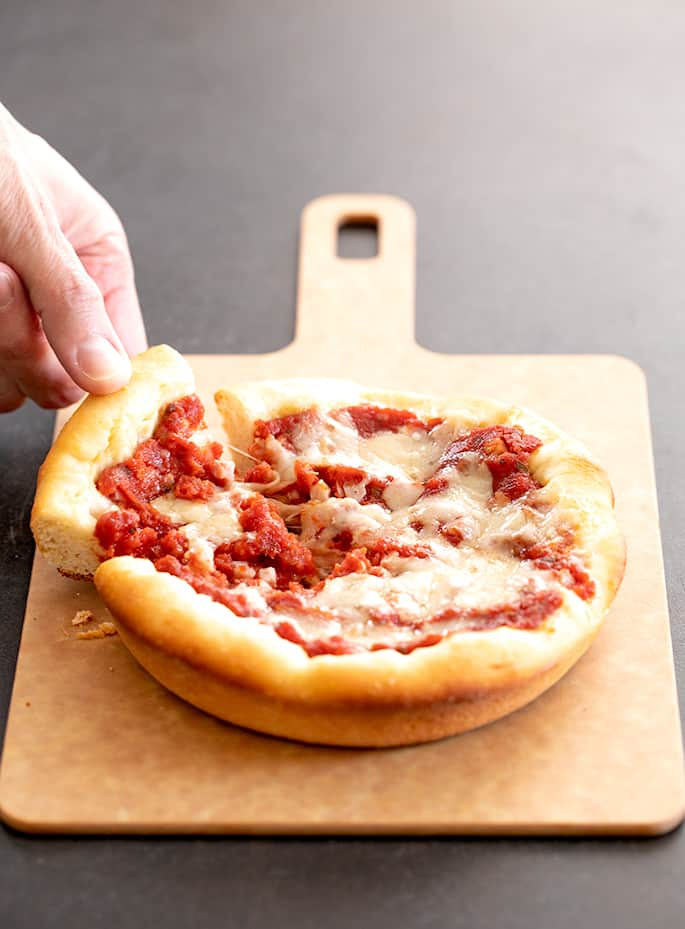 Deep Dish Gluten Free Pizza Dough