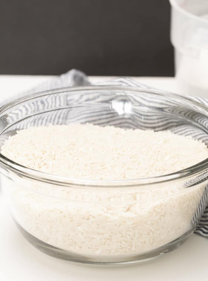 Turn plain rice into rice flour at home. This is as close as I've ever come to homemade superfine rice flour. Save cash MONEY in the long run for sure.