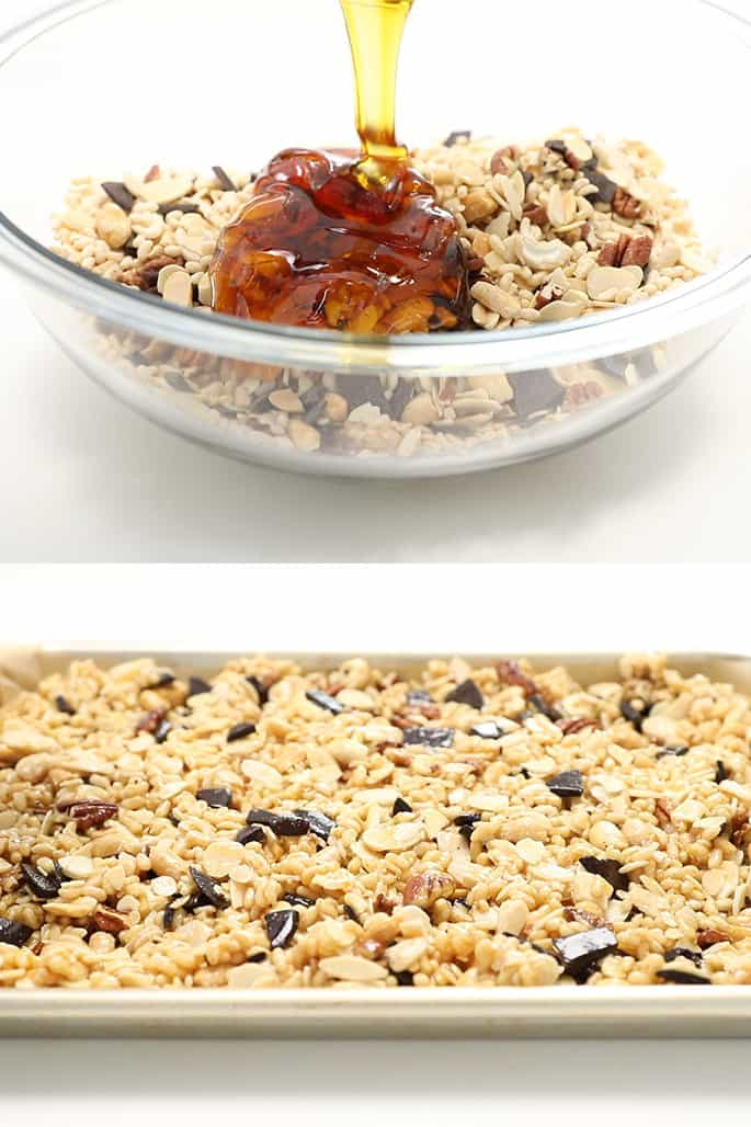 These healthy cereal bars are just like KIND bars, but you customize them and you control the amount of honey!