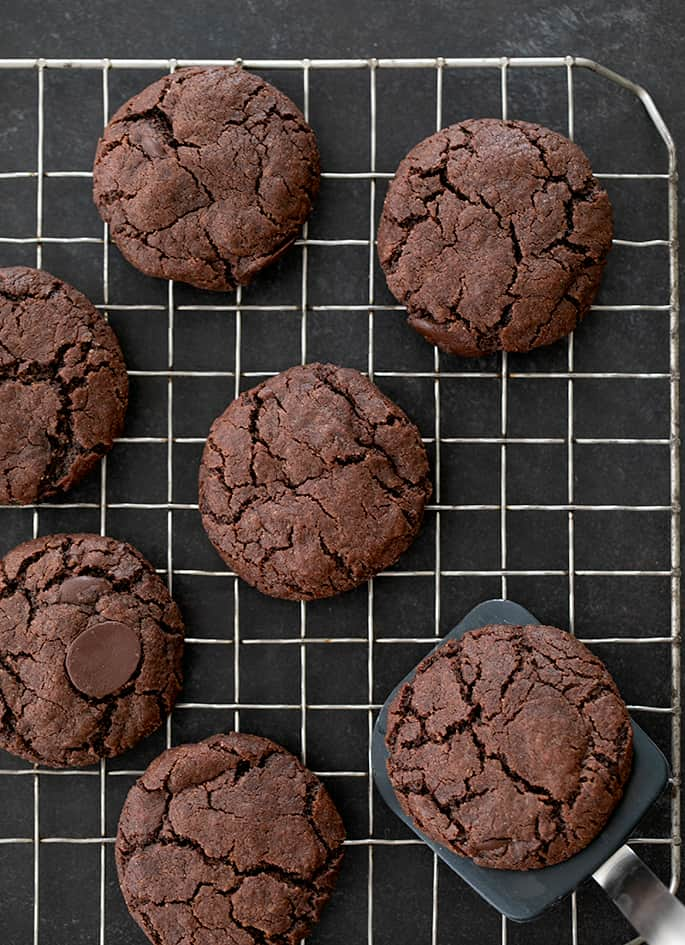 Double Gluten Free Chocolate Cookies