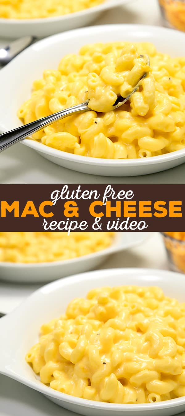 Gluten free mac and cheese at its easy best. This recipe only takes about 20 minutes to make from start to finish, and it's made entirely on the stovetop. So good!
