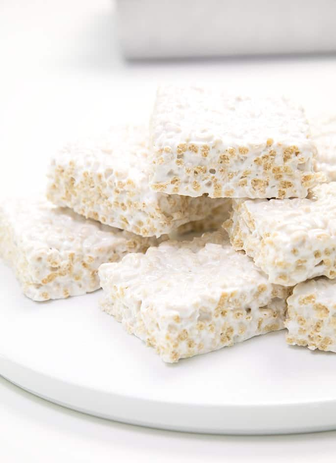 Homemade Marshmallow Rice Krispie Treats