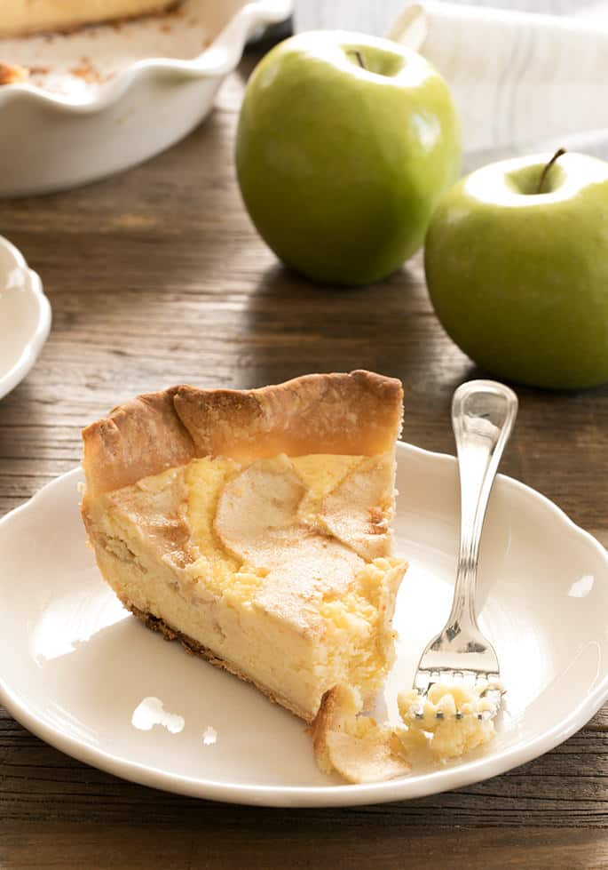 Custard Pie With Apples