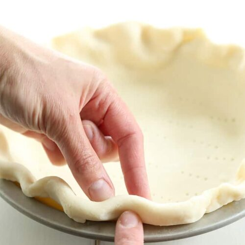 This extra flakygluten free pie crust is made with sour cream and rolls out beautifully. You canhave the perfect recipe for pie crust in your baking toolbox.