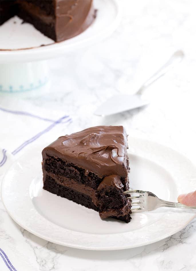 Quinoa Gluten Free Chocolate Cake