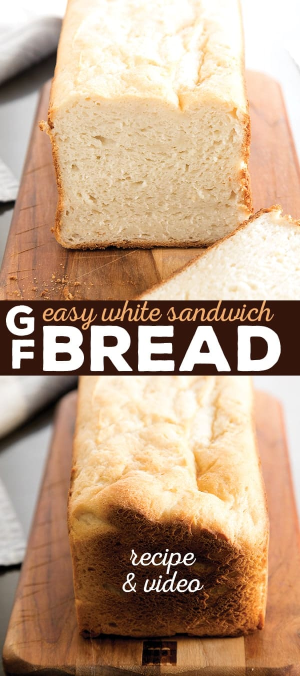 Picture the gluten free sandwich bread you've been missing in your life, and know that the wait is over. It's that simple.