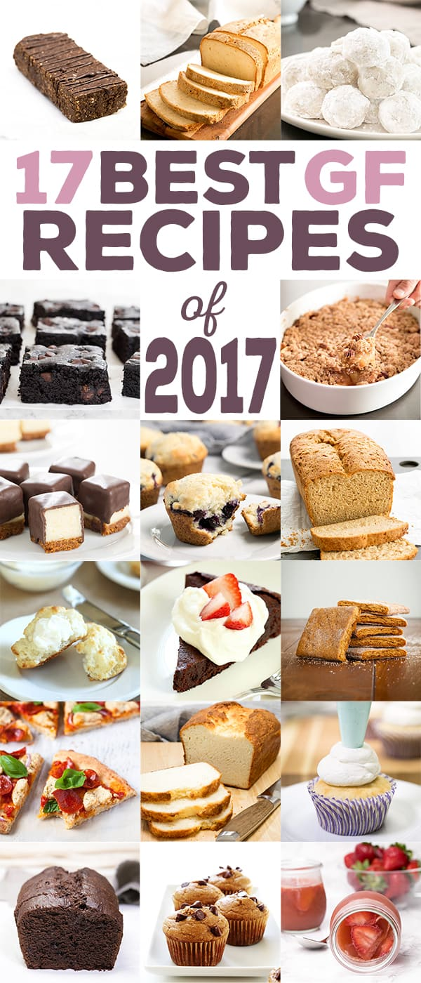 The very best gluten free recipes of 2017, from number 17 all the way through number 1.For the 8th year since I began writing this blog in 2009, we're counting down the most popular recipes here on the blog.