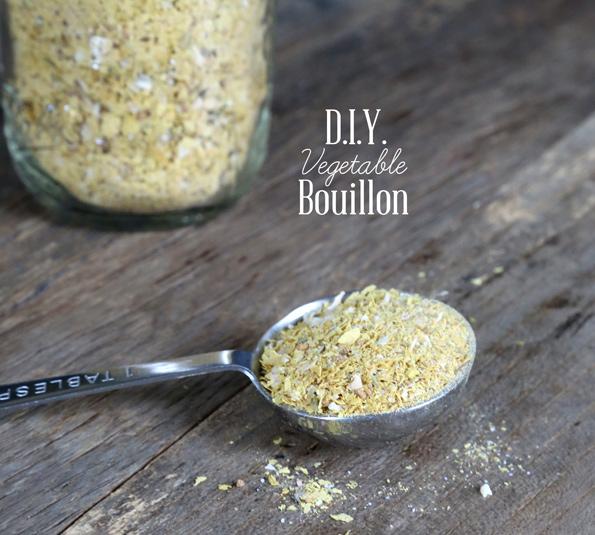 Homemade Vegetable Bouillon Powder