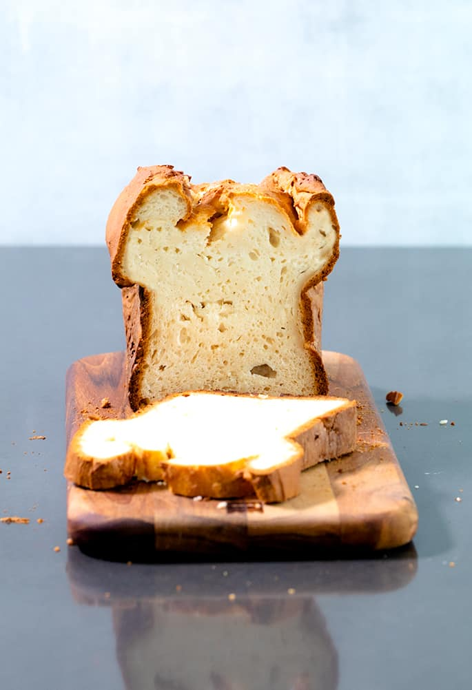 This yeast free gluten free bread recipe is perfect for sandwiches and needs no rising time or advanced preparation at all. If you're in a hurry, or just can't have yeast, this bread is for you!