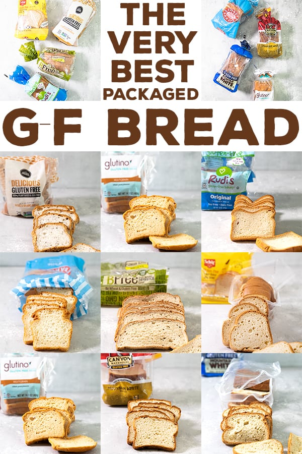 If you're tired of paying too much for sliced gluten free bread that you can't separate or crumbles before your very eyes, here's my list of 8 of the best gluten free bread brands to try. #gf #glutenfreebread #productreviews #bestglutenfree