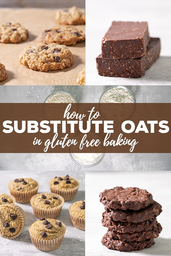 If you're gluten free and still can't (or won't) eat oats, there's an oat substitute in gluten free baking for every type of recipe. Now you can finally have a gluten freen'oatmealcookie! #glutenfree #gf #oatfree #oats #avenin