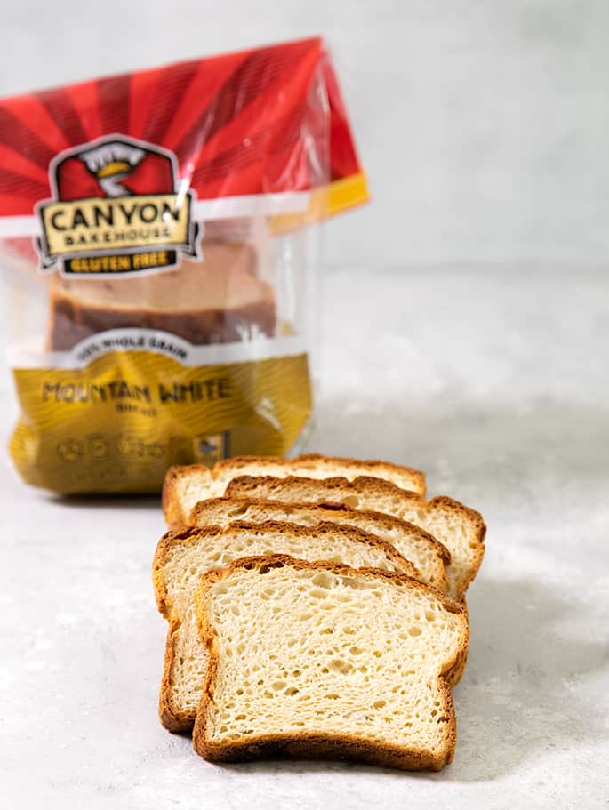 If you're tired of paying too much for sliced gluten free bread that you can't separate or crumbles before your very eyes, here's my list of 8 of the best gluten free bread brands to try. Canyon Bakehouse GF Bread