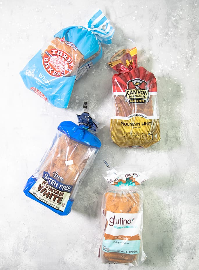 If you're tired of paying too much for sliced gluten free bread that you can't separate or crumbles before your very eyes, here's my list of 8 of the best gluten free bread brands to try: Three Bakers, Canyon Bakehouse, Franz, Glutino