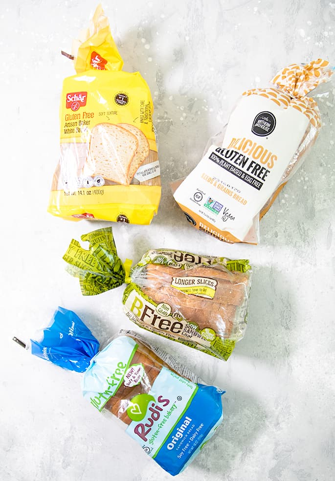 If you're tired of paying too much for sliced gluten free bread that you can't separate or crumbles before your very eyes, here's my list of 8 of the best gluten free bread brands to try: Schar, Little Northern Bakehouse, BFree, Rudis