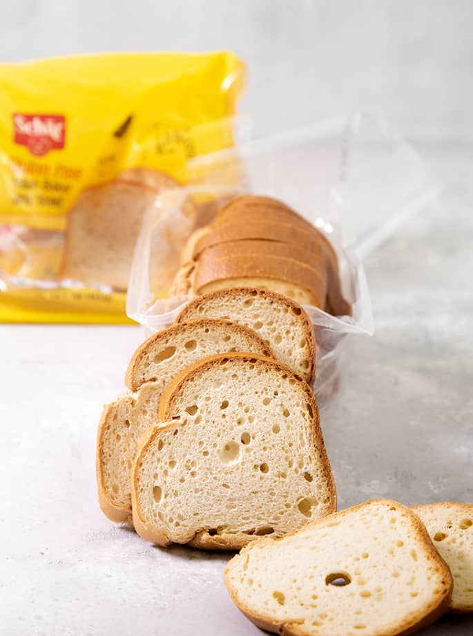 If you're tired of paying too much for sliced gluten free bread that you can't separate or crumbles before your very eyes, here's my list of 8 of the best gluten free bread brands to try: Schar GF Bread