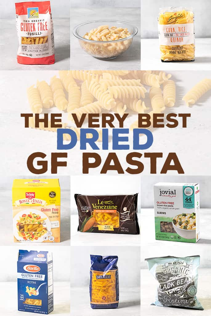 It's great to make your own fresh gluten free pasta, but who can do that every day? For real-life weekdays, here's my list of 8 of the best dried gluten free pasta brands to try.