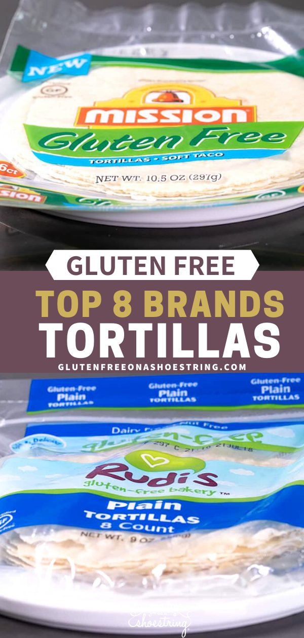 If you love tortillas but can't always make your own, here are 8 of the very best gluten free tortillas brands to try.