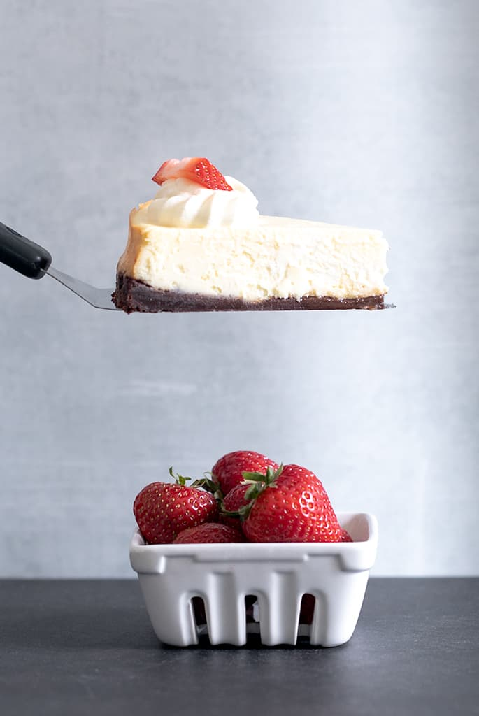 Classic Gluten Free Cheesecake | Oven or Instant Pot
