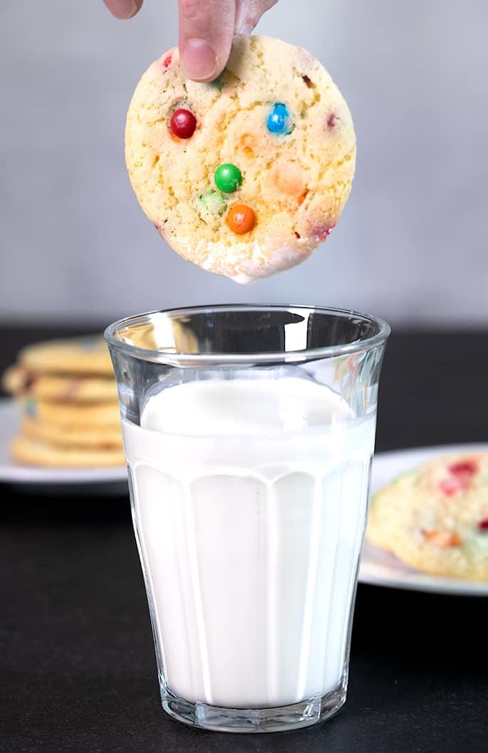 Vanilla Cake Mix Cookies