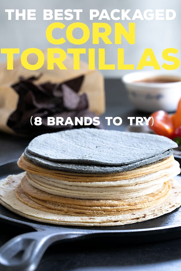 The best corn tortillas are soft and flexible, and taste and smell like corn. For when you need to grab something quick, here are 8 packaged brands to try. #glutenfree #naturallygf #productreview #tortillas
