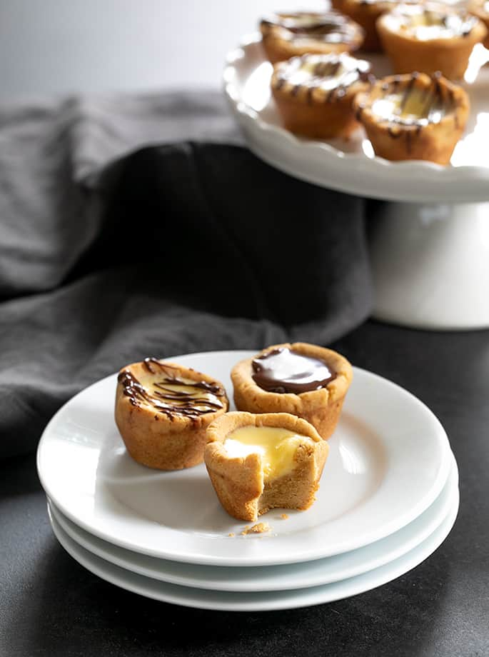 Mini Cheesecake Cookie Cups