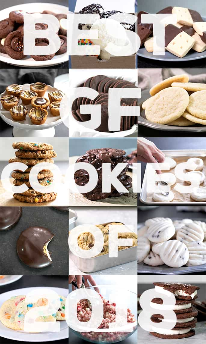 Get those eggs and butter ready, because you're going to want to make every one of these recipes for the best gluten free cookies of 2018.