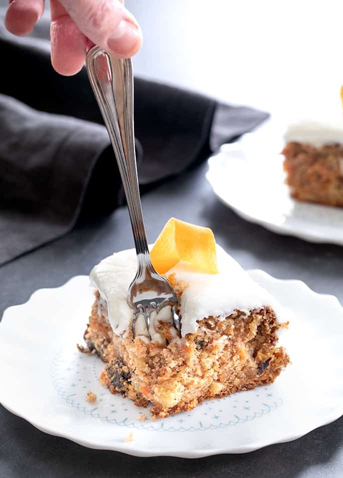 A classic gluten free carrot cake made in the Entenmann's style, with crushed pineapple in the batter. Remember the taste? Have it again!