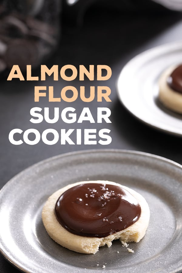 These cutout almond flour sugar cookies will hold any shape you like so you can celebrate any holiday and still eat grain free! #glutenfree #gf #almondflour #paleo