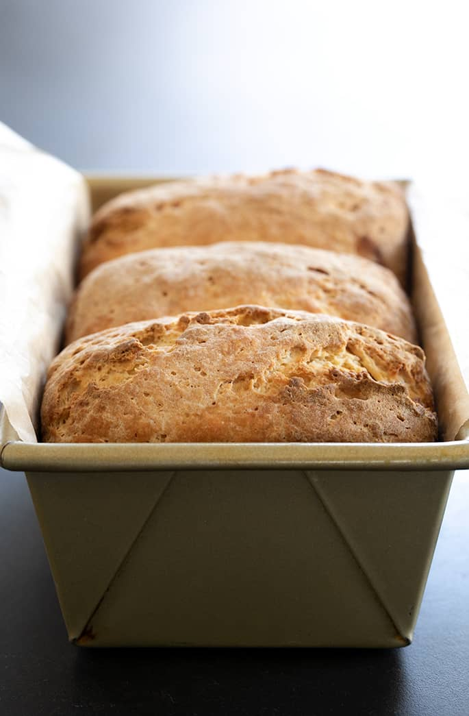 This super simple recipe for gluten free Japanese milk bread makes the softest recipe for batter-style gluten free bread you've ever seen, or tasted!
