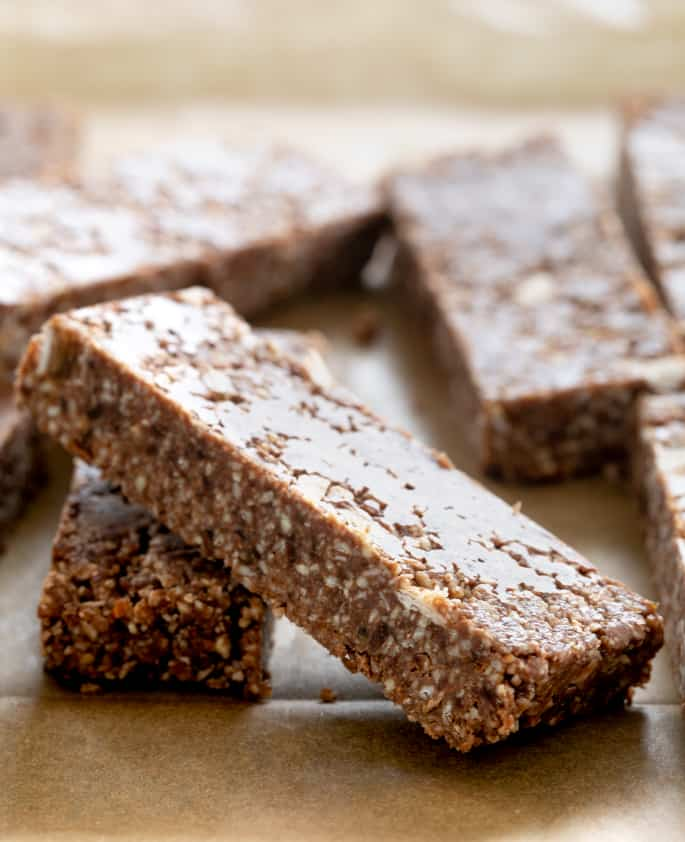 This master Larabar recipe is the secret to making your favorite bars at home with whatever flavors you like, in just minutes. The perfect gluten free snacks!