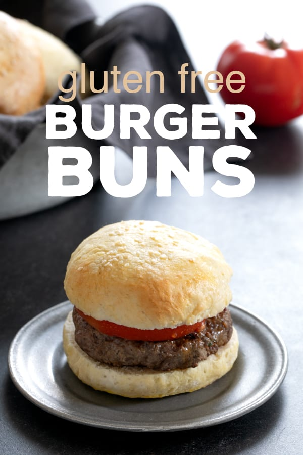 "This recipe for gluten free buns is for everyone who has ever eaten a burger on a lettuce wrap and pretended it was ""fine."" I love lettuce as much as the next person, but it's not a hamburger bun. #glutenfree #gf #bread"