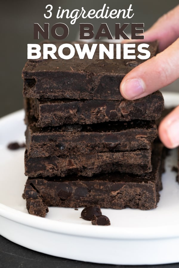 These no-bake brownies are made with just 3 ingredients, and you won't believe just how easy they really are.Chocolate cookie crumbs may seem ordinary, but they can do some amazing things!