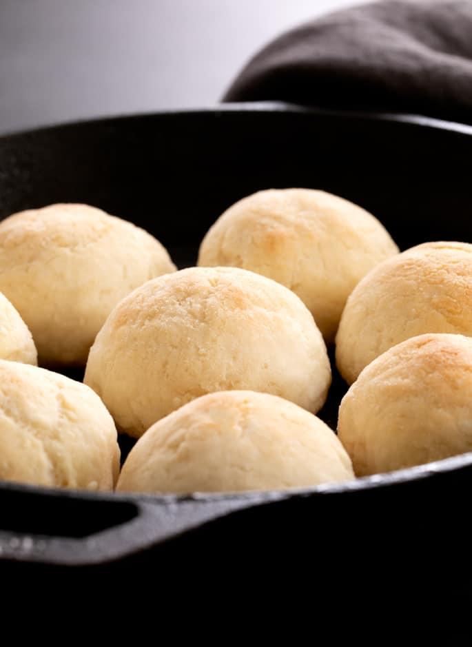Yeast Free Gluten Free Dinner Rolls