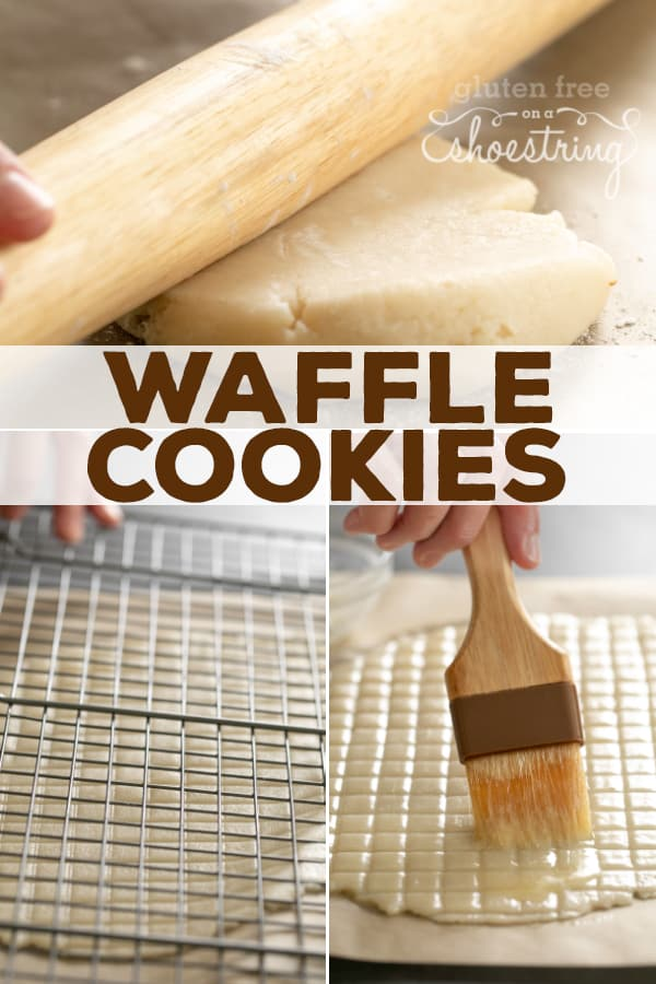 These gluten free waffle cookies are super crispy, crunchy, and buttery. No special equipment or ingredients needed!
