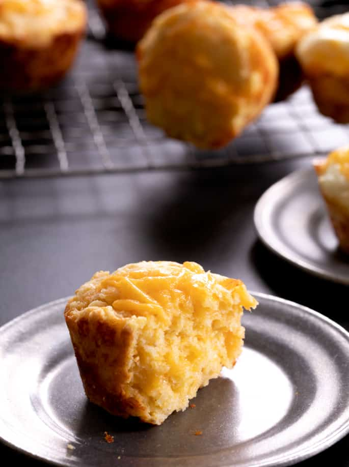 Gluten Free Breakfast Corn Muffins
