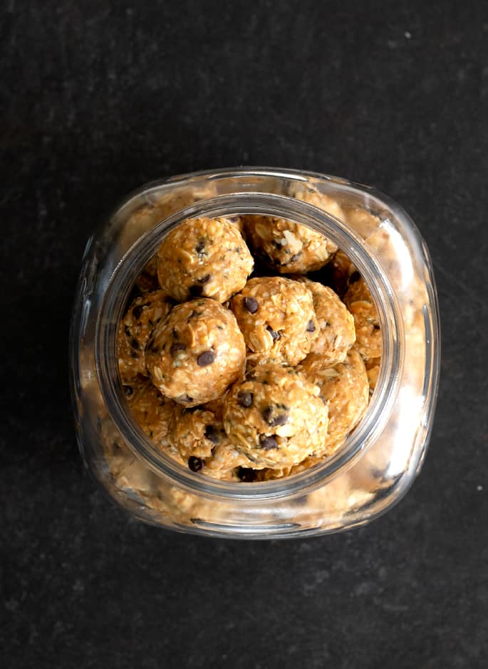 These no bake peanut butter energy bites are delicious, satisfying and so easy to make. And they're naturally gluten free, too!