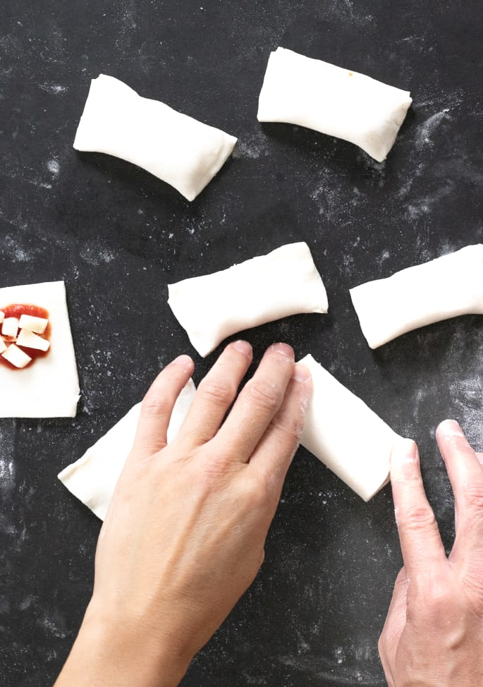 Gluten free pizza rolls are the perfect finger food are they're surprisingly easy to make. They even reheat well for an after-school snack!