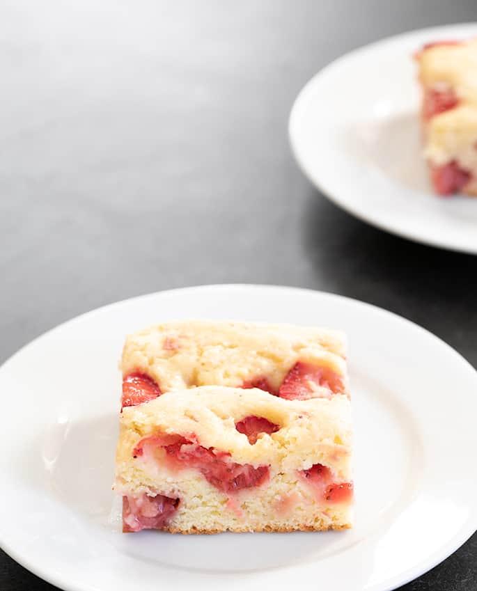 Gluten Free Strawberry Breakfast Cake