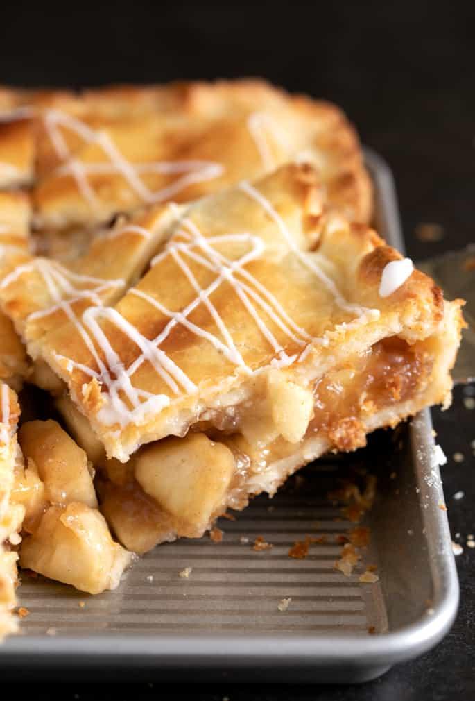 Gluten Free Apple Slab Pie