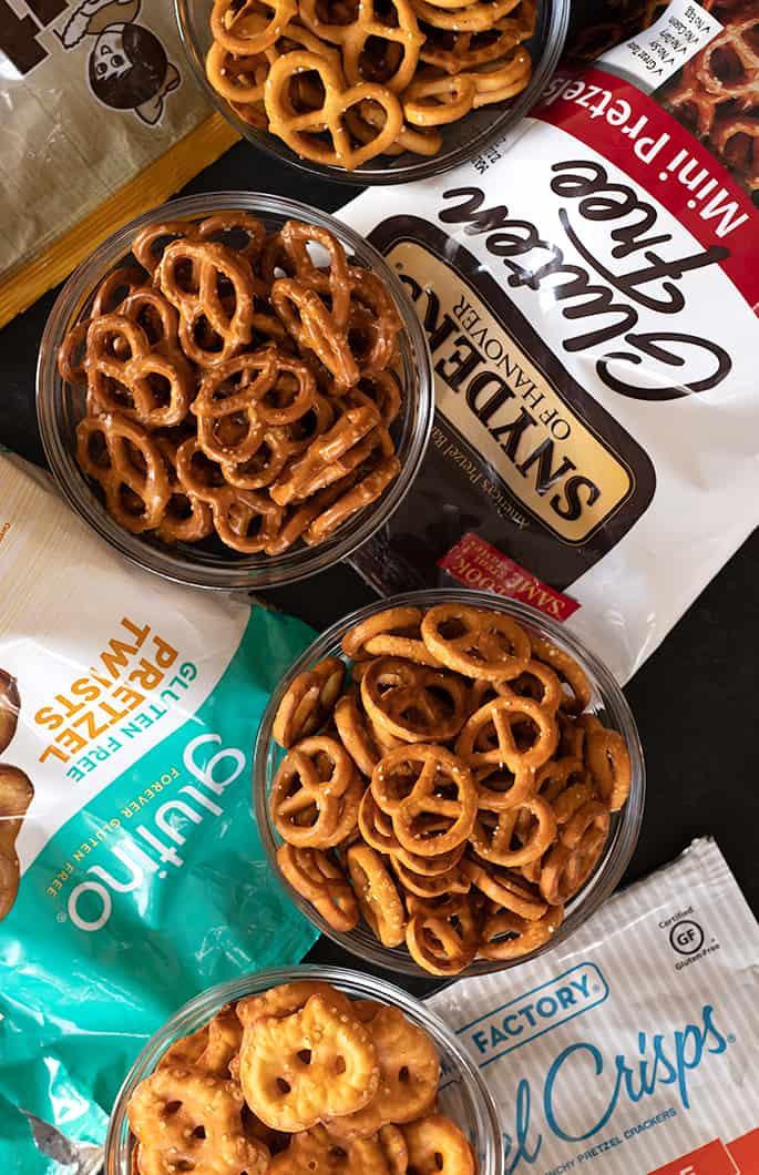 Glutino Snack Factory Snyders Utz gluten free pretzels are the best 4 gluten free pretzel brands I recommend anyone try.