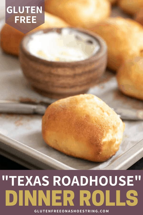 These gluten free Texas Roadhouse-style rolls are tender, light and fluffy, but they're safely gluten free. Let that bread basket pass you by and try these instead!