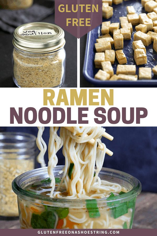 If you love ramen soup, this recipe for gluten free instant noodle cups will prove that gluten free ramen noodles are quick, easy and delicious!